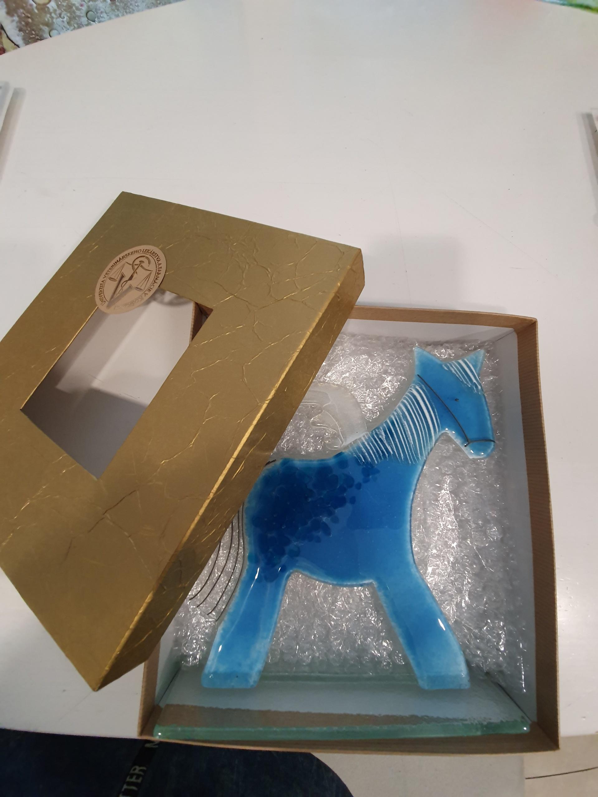 """promotional gift """"blue pegasus"""""""